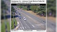 Rivergrove: Clackamas Co - Johnson Creek Blvd at Fuller Rd - El día