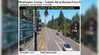 Tualatin: Washington County - Rd at Boones Ferry Rd - Overdag