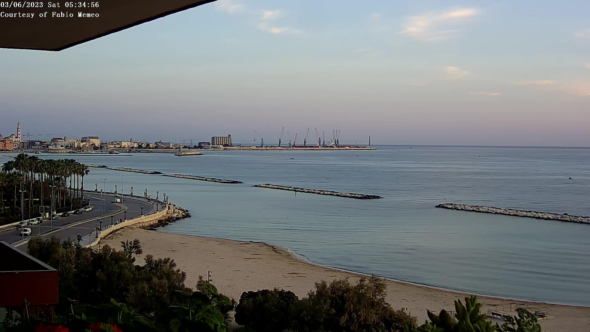 Webcam Bari, Lungomare - TanaOnda