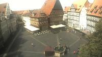 Hildesheim: Marktplatz - Overdag