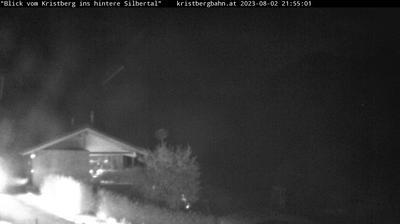 Vista actual o última desde Kristberg: Lobspitze und hinteres Silbertal