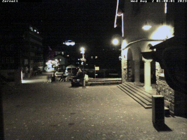 Zermatt: Kirchenplatz