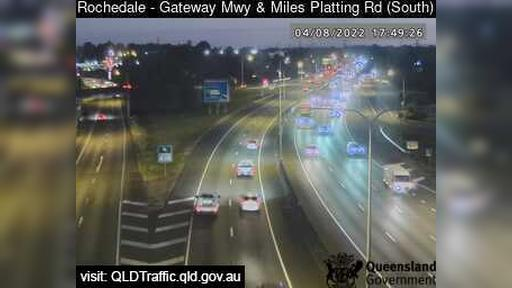 Webcam Eight Mile Plains: Rochedale − Gateway Mwy and Mil
