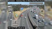 Brisbane City: Rochedale - Gateway Mwy and Miles Platting Road (South) - Overdag