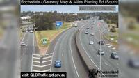 Brisbane City: Rochedale - Gateway Mwy and Miles Platting Road (South) - Day time