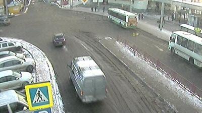 Webkamera Yaroslavl: Главный, вид на улицу Ухтомского