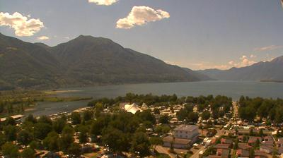 Daylight webcam view from Tenero: Camping Campofelice