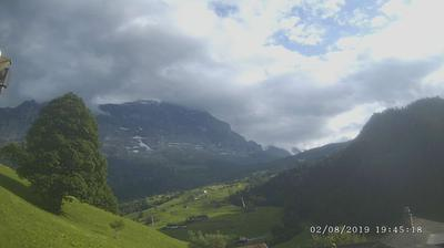 Webcam Grindelwald › South-West: Eigernordwand