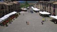 Ainsa › North-East: Plaza Mayor - Plaza Mayor Ainsa - Dia