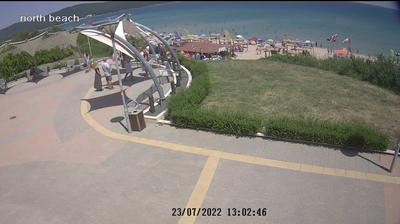 Daylight webcam view from Приморско › North East: Primorsko − Burgas