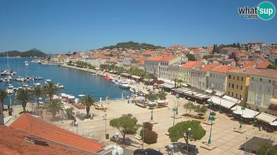 Daylight webcam view from Mali Lošinj: Mali Losinj − center