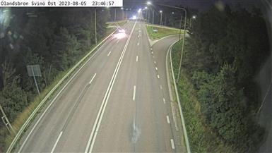 Webcam Berga: Ölandsbron Svinö österut