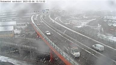 Webcam Fältkanonen samfällighet: Ånäsmotet nordväst