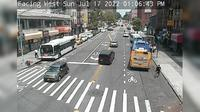 Manhattan Community Board 9: Amsterdam Avenue @  Street - Day time