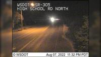 Bainbridge Island > North: SR  at MP .: High School Rd North - Current