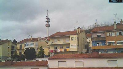 Daylight webcam view from Abrantes › North West: › North West: Zona Alta (Torre)