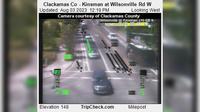 Wilsonville: Clackamas Co - Kinsman at - Rd W - El día