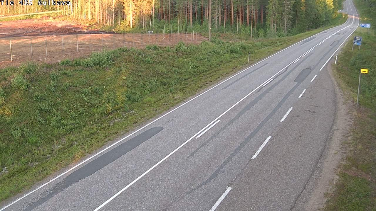 Webcam Sulkava: Tie 435 − Juvalle