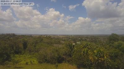 Vue webcam de jour à partir de Buenavista del Cayo: Buenavista del