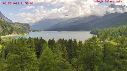 Bregaglia: Lake Sils - Engadin St. Moritz