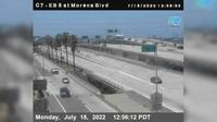 Old Town > East: EB  at Morena Blvd - Actuales