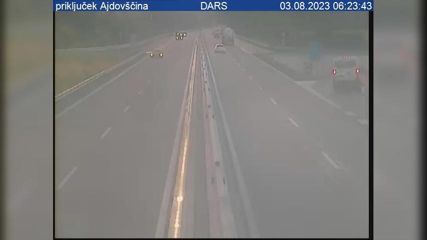 Webcam Ajdovščina: H4, Podnanos − Vrtojba, priključek