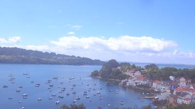 Daylight webcam view from Ares: Porto de Redes. Caamouco