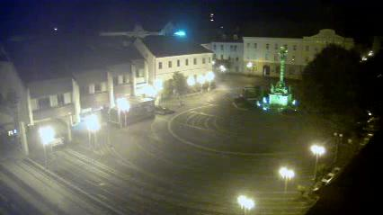 Webcam Trnava › North-West: Trojičné námestie