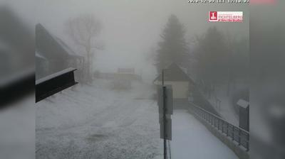 Daylight webcam view from Fichtelberg Haus: Fichtelberg Talstation