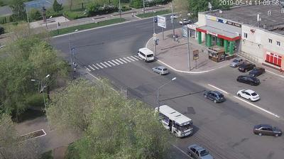 Webkamera Orenburg: перекресток ул. М.Жукова − ул.Туркестанс