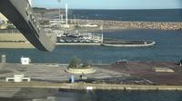 Canet-en-Roussillon: Môle nord - Jour