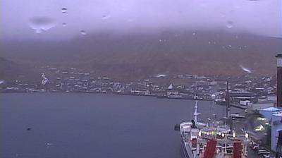 Vista de cámara web de luz diurna desde Fuglafjørður › North West