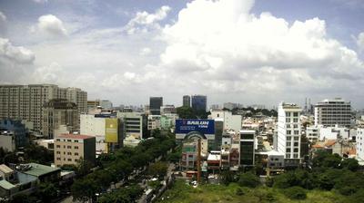 Tageslicht webcam ansicht von Quận Bình Thạnh › South East: Hai Au building 39B, Phường 4, Tân Bình, Hồ Chí Minh − Distr