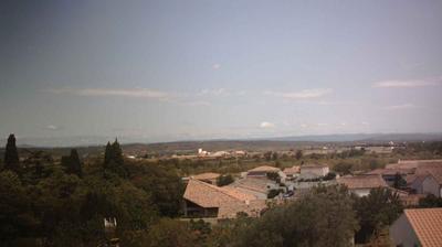 Daylight webcam view from Ferrals les Corbières › North East: Région Languedoc Roussillon