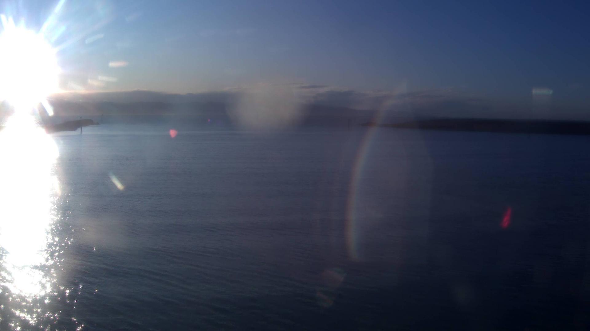Webkamera Port Nelson › North-West: Port − The cut