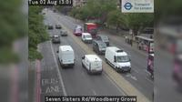 London Borough of Haringey: Seven Sisters Rd/Woodberry Grove - Overdag