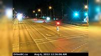 Pitt Meadows > East: , Hwy  (Lougheed Hwy) at Harris Road, looking east - Recent