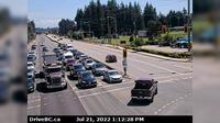 Pitt Meadows > East: , Hwy  (Lougheed Hwy) at Harris Road, looking east - Overdag