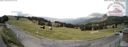 Schwyz: Ibergeregg, Passhöhe - Hotel Passhöhe