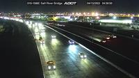 Phoenix › East: I- EB . @Salt River Bridge - Overdag