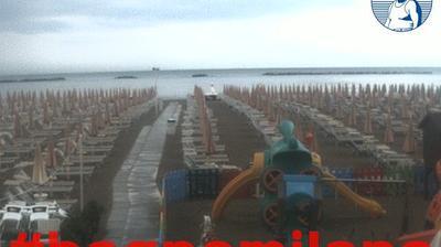 Tageslicht webcam ansicht von Cesenatico: Spiaggia