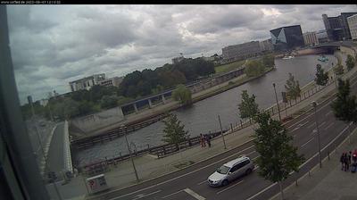 Daylight webcam view from Berlin: Spree
