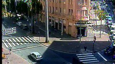Vue webcam de jour à partir de Belo Horizonte: AO VIVO: Rua da Bahia c/ Caetés (BH)