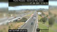 Maroochydore: Sunshine Motorway - Pacific paradise, David Low Way interchange (looking South) - Day time