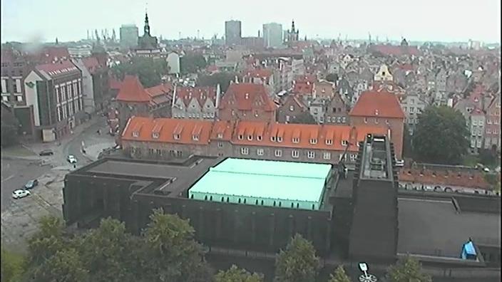 Webkamera Gdańsk: Główne Miasto