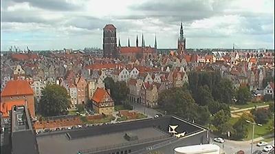 Vue webcam de jour à partir de Gdańsk: Główne Miasto