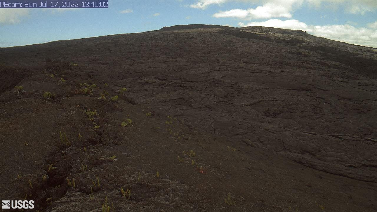 Webcam Royal Gardens (historical): Kīlauea volcano Puʻu ʻ