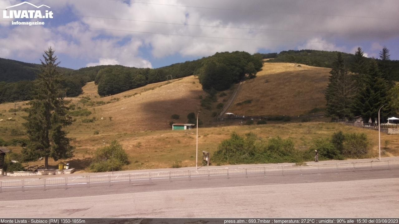 Webcam Subiaco: Monte Livata