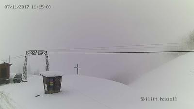 Rothenthurm: Bergstation Skilift Neusell
