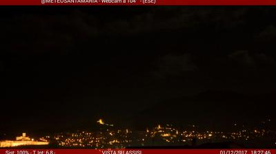 Webcam Santa Maria degli Angeli › North-East: Assisi